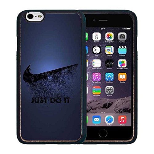 Just Do It Phone Accessories Printed Solid Plastic Custodia Case Durable Anti Slip Compatible with Iphone 6 Plus 6S Plus (5.5 Pollici) Move0115