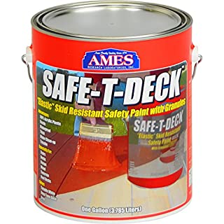 AMES RESEARCH LABORATORIES SD1TW Water Base High Strength Elastomeric Deck & Floor Coating by