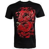 Venum Herren Dragon's Flight T-Shirt, Schwarz, L
