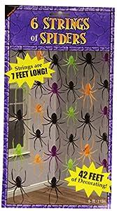 Amscan Internacional decorativo Cadena araña