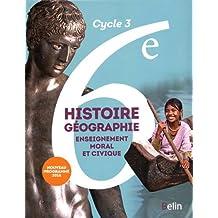 Amazon.fr : histoire geographie 6eme belin : Livres