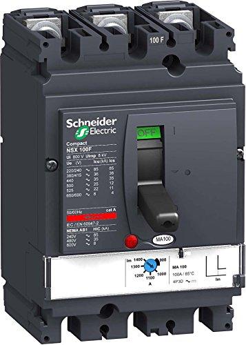 Schneider elec pbt - pac 05 02 - Interruptor control magnetico nsx100f...