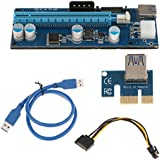 MagiDeal VER 006C PCI-E Express 1XTO16X Extender Riser Adapter Card FOR Mining ETH