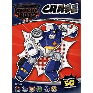 Chase : Livre d'activités avec des personnages détachables !