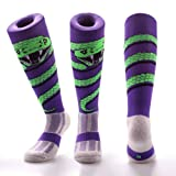 Samson Hosiery ® SNAKE WRAP Print Funky Novelty Fashion Gift Socks Football Rugby Sports And Casual Knee High Socks For Men Women Kids Unisex