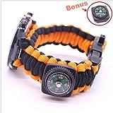 Survival Bracelet de montre résistant aux chocs 226,8kilogram professionnel...