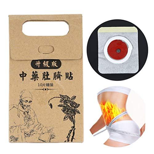 WEIHAN 10 unids Potente Adelgaza Pegar Pegatinas Cintura Fina Vientre Quemar Grasa Parche Medicina China Productos Para Adelgazar para el Cuidado de la Salud