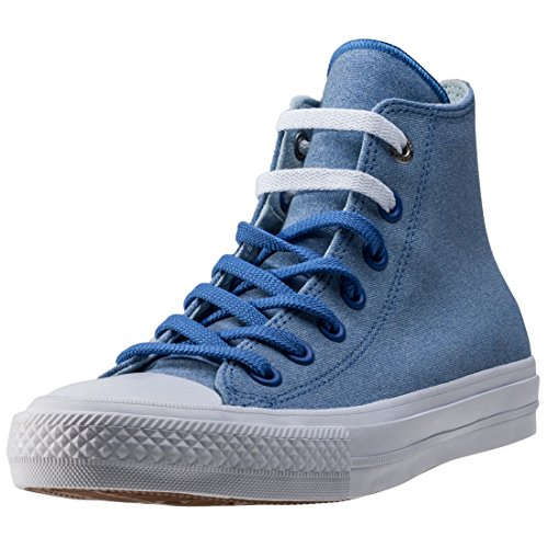 Converse Trainers - Converse Chuck Taylor All Star II Shoes - Oxygen Blue/Polar Blue