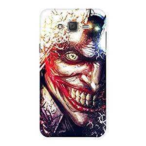 Delighted Crazy Insanity Multicolor Back Case Cover for Galaxy J7