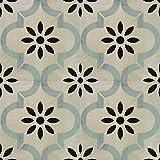 Zementfliesen Optik Gotik Nivola 22,3x22,3cm | Boden-Fliesen | Zement-Fliesen | Dekor | Fliesen-Bordüre | Ideal für den Wohnbereich (auch als Muster erhältlich)...