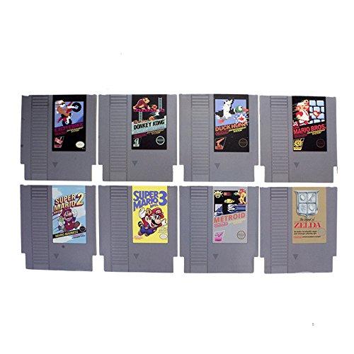 Nintendo Nes Cartridge Coasters, Hardboard/Paper, Multi-Colour, 9 x 1 x 10 cm