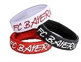 FC Bayern München Haargummi 3er Set Zopfgummi