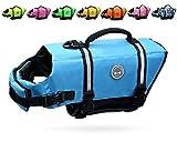 Vivaglory Hundeschwimmweste Doggy Float Coat Wassersport Schwimmhilfe Rettungsweste für Hunde