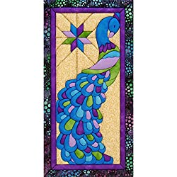 Quilt Magic Peacock Kit, 9.5-inch X 19-inch