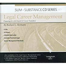 Legal Career Management: Preparing for a Job Search & Career Transition (Sum & Substance)