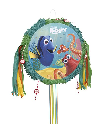 Unique Party Supplies Finden Dory Pinata, Pull String