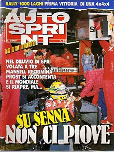 Autosprint n. 35 del 8-9 / 1989 Mansell, Prost, Senna, Citroen Bx Trd