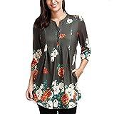 JUTOO Shirtkleid langarmweiße Damenbekleidung Opus elee Fashion günstig bestellen günstige kataloge Business Kleidung Damen Mode kataloge Frauen günstige Damenmode auf rechnung (L4)