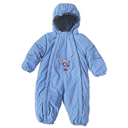BORNINO Schneeoverall Baby-Schneebekleidung, Größe 74/80, hellblau