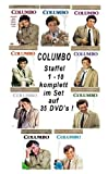 Columbo - Staffel 1 - 10 Komplett - Set auf 35 DVDs Deutsche Originalware! [35DVDs]