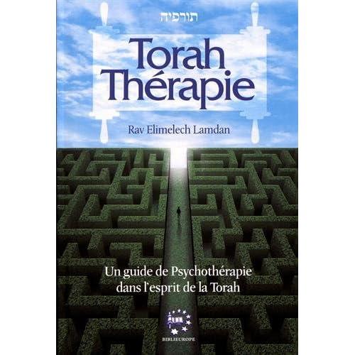 Torah Thérapie : Un guide de psychothérapie dans l'esprit de la Torah