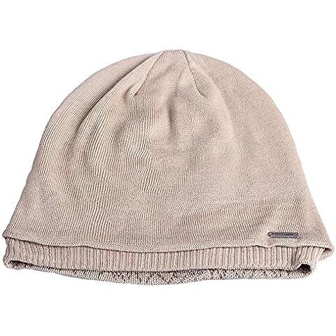 Dngy*L'INVERNO HAT marea Autunno e Inverno maglione Knit Hat elegante kit caldo cappuccio di testa orecchio tappo , double-sided Baotou Beige