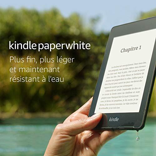 """Kindle Paperwhite - Résistant à l'eau, Écran haute résolution 6"""", 32Go - Sans offres spéciales"""