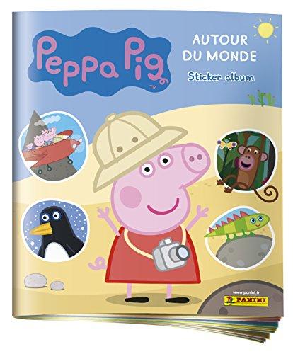 Panini France SA 2311-009 Peppa Pig 4 Autour du Monde Album