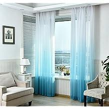 Suchergebnis auf Amazon.de für: vorhang transparent blau
