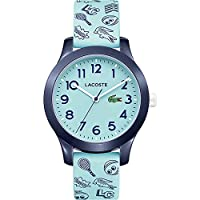 Lacoste Unisex-Child Analogue Classic Quartz Watch with Silicone Strap 2030013