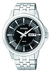 Idea Regalo - Citizen Orologio da uomo analogico con movimento al quarzo in acciaio inox BF2011-51EE
