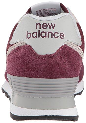 New Balance 574v2, Sneaker Uomo Rosso (Burgundy)