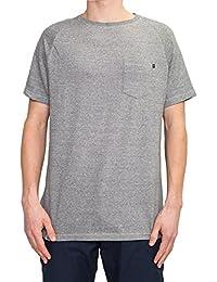 T-Shirt Reell – Pocket bleu/vert taille: M (Medium)