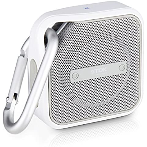 TDK MICRO TREK A12 compatto Bluetooth-altoparlante (con NFC, line-in)