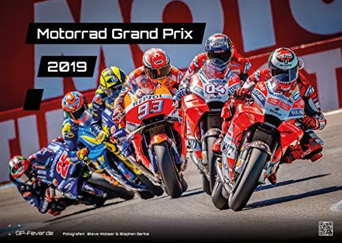 Calendario Motorrad Grand Prix 2019, formato DIN A3 (lingua italiana non garantita)