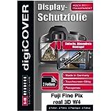 DigiCover B2627 Protection d'écran pour Fujifilm Fine Pix Real 3D W3