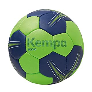 Kempa Gecko Handball Ball, Flash grün/deep blau, 0