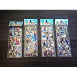 3 x Sticker Sheets - Ideal for Party Bags - Frozen Stickers Elsa Stickers Frozen Party Bag Filler Elsa Party Frozen Party Stickers