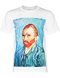 PALLAS Men's Vincent Van Gogh self portrait T-Shirt
