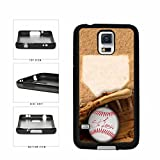 Expressories Saint Louis Handschuh und Baseball TPU Rubber Silikon Case Backcover Samsung Galaxy S5 I9600