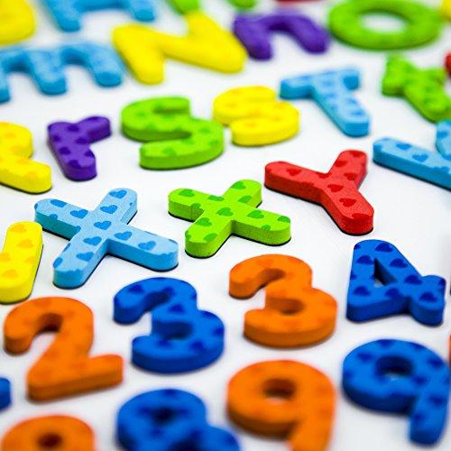 Juguetes Didácticos  Letras y números magnéticos para niños  educando niños con diversión  innovando la mente de los bebés  82 piezas