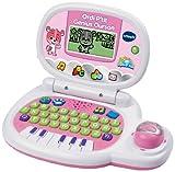 VTech 139555 - Jeu électronique - Ordinateur P'tit - Genius Ourson - Rose