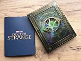 Doctor Strange 2017 3D Includes 2D Version Exclusive Limited Edition Steelbook Blu-ray Gift Steelbook'sTM foil + COLLECTIBLE CARDS and FOLDER as GIFT! Region Free