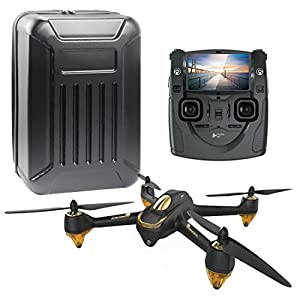 Hubsan H501S X4 FPV RC Drone With 1080P HD Camera Quadcopter with Package Bag (Black) from CS PRIORITY