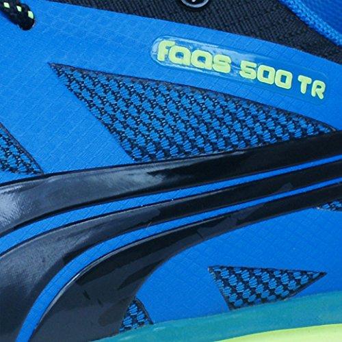 Puma Faas 500 tr 30459601, Running Homme Bleu, noir et jaune