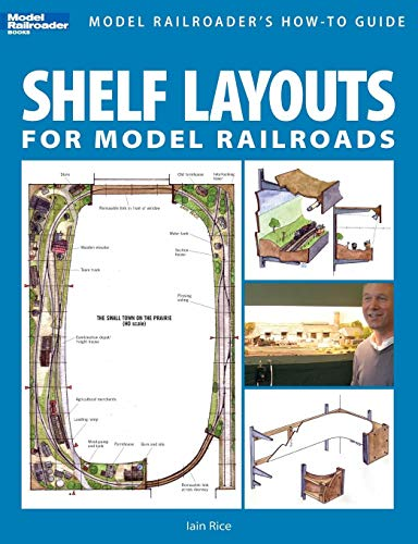 Shelf Layouts for Model Railroads por Iain Rice