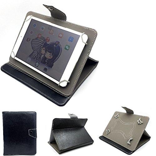 Schutz Hülle Tablet Case für Huawei, Kiano, Caterpillar, Lenovo, Xiaomi, Medion, Allview, Hisense, iconBIT, Asus, Blaupunkt, ACER , schwarz. Tablet Hülle mit Standfunktion Ultra Slim Bookstyle
