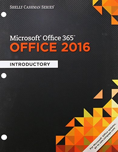 Shelly Cashman Series Microsoft Office 365 & Office 2016: Introductory, Loose-leaf Version by Steven M. Freund (2016-02-16)