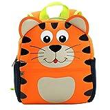 Yeelan Wasserdichte Schultasche / Rucksack für Kinder (Tiger)