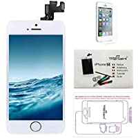 Display LCD iPhone SE White - Trop Saint ® Replacement Screen With a Magnetic Project Map, Tutorial, Tools and Protective Film